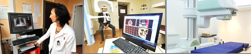 Le service d'imagerie médicale et dentaire du Centre de Santé Jack Senet
