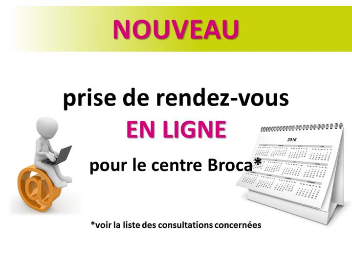 Encart publicitaire Broca