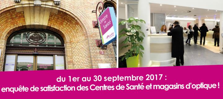du 1er au 30 septembre : Participez à notre enquête de satisfaction !