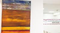 Exposition de l'artiste peintre Jean Serolle au Centre Broca jusqu'au 31 octobre