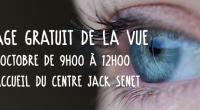 Journée mondiale de la vue : dépistage gratuit au Centre Jack Senet le 12 octobre