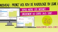 Nouveau : prenez vos RDV de Radio en ligne sur notre site !