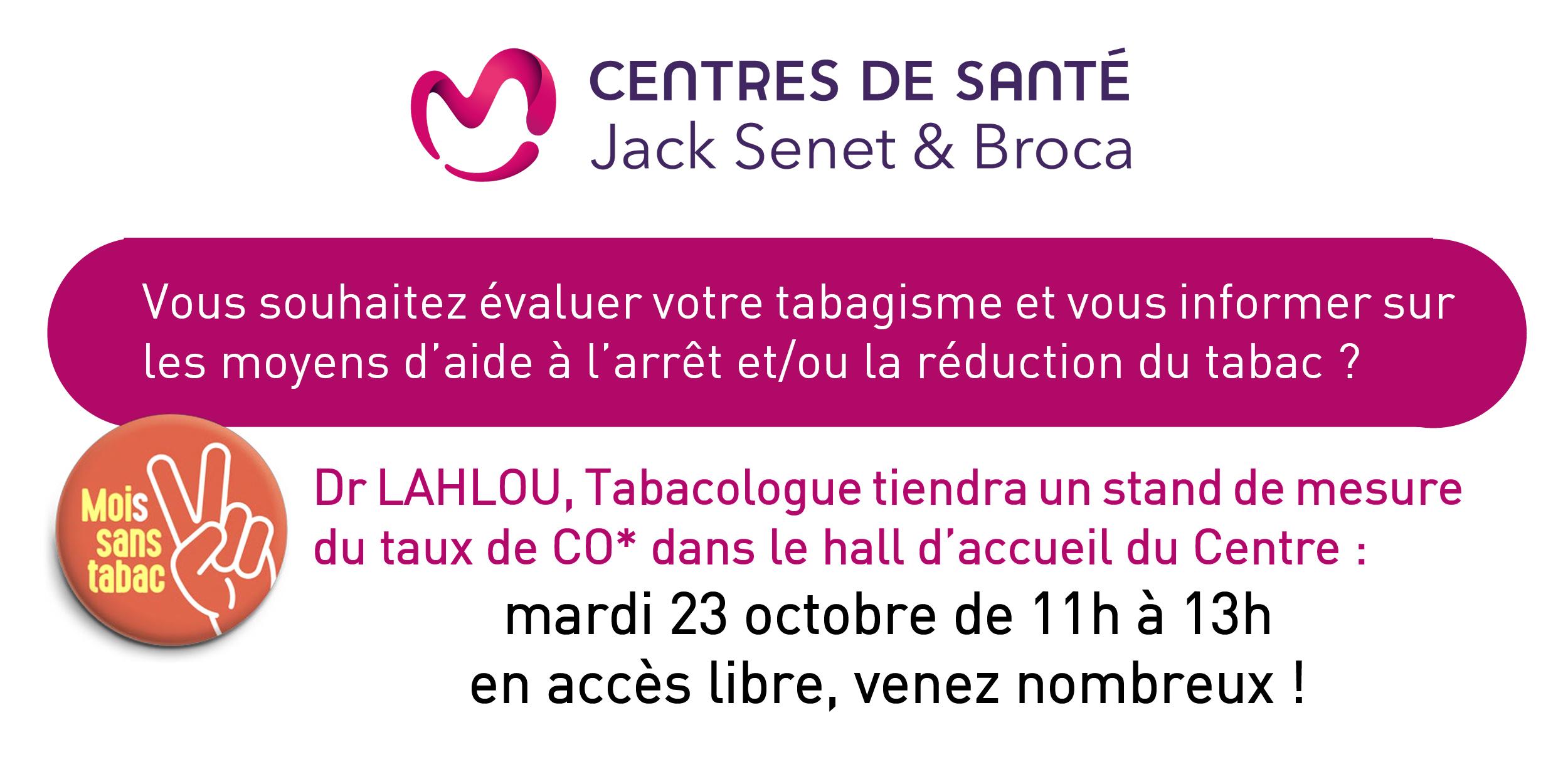 Moi(s) sans tabac : évaluation de votre tabagisme ce mardi avec le Dr Lahlou !
