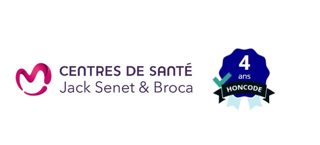 Le site web des Centres de Santé Jack Senet et Broca a reçu, pour la quatrième année consécutive la certification selon le HONcode