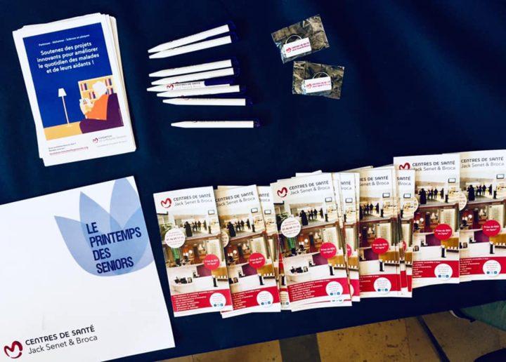 Participation de nos Centres à l'édition 2019 du Printemps des Seniros à la mairie du 13ème arrondissement